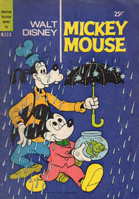 Cover Thumbnail for Walt Disney's Mickey Mouse (W. G. Publications; Wogan Publications, 1956 series) #223