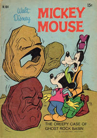 Cover Thumbnail for Walt Disney's Mickey Mouse (W. G. Publications; Wogan Publications, 1956 series) #184