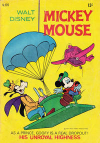 Cover Thumbnail for Walt Disney's Mickey Mouse (W. G. Publications; Wogan Publications, 1956 series) #176