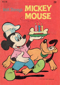 Cover Thumbnail for Walt Disney's Mickey Mouse (W. G. Publications; Wogan Publications, 1956 series) #170