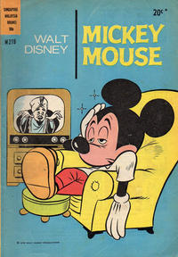 Cover Thumbnail for Walt Disney's Mickey Mouse (W. G. Publications; Wogan Publications, 1956 series) #219