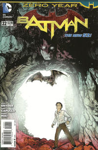 Cover Thumbnail for Batman (DC, 2011 series) #22 [Mikel Janin Cover]