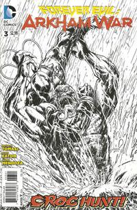 Cover Thumbnail for Forever Evil: Arkham War (DC, 2013 series) #3 [Jason Fabok Black & White Cover]