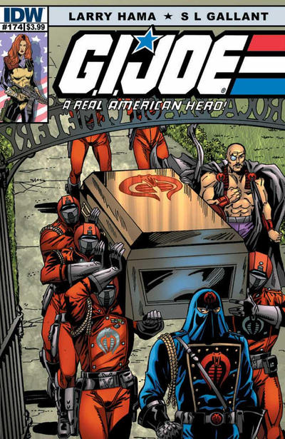Cover for G.I. Joe: A Real American Hero (IDW, 2010 series) #174 [Cover B]
