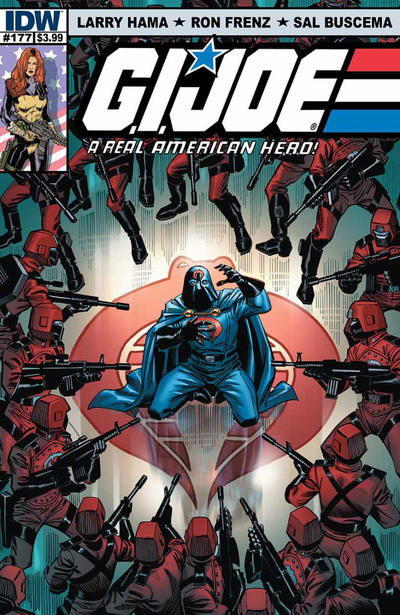 Cover for G.I. Joe: A Real American Hero (IDW, 2010 series) #177