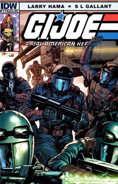 Cover for G.I. Joe: A Real American Hero (IDW, 2010 series) #176 [Cover B]