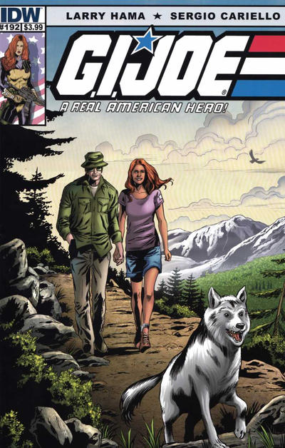 Cover for G.I. Joe: A Real American Hero (IDW, 2010 series) #192