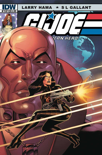 Cover for G.I. Joe: A Real American Hero (IDW, 2010 series) #181 [Cover RI - Incentive Larry Hama Sketch Variant]