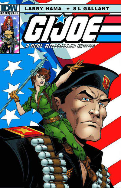 Cover for G.I. Joe: A Real American Hero (IDW, 2010 series) #183 [Retailer Incentive Cover]