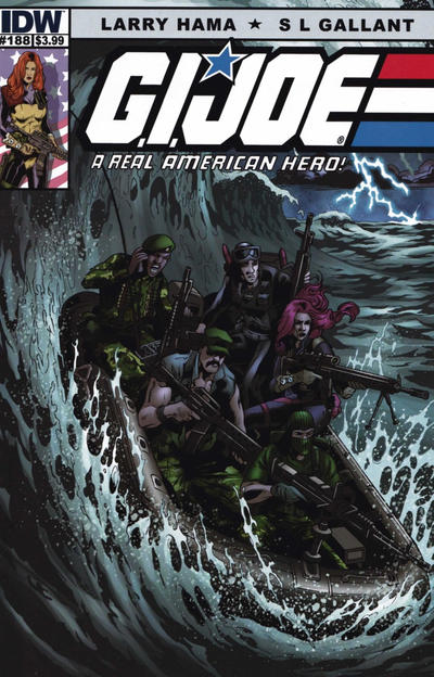 Cover for G.I. Joe: A Real American Hero (IDW, 2010 series) #188 [Cover RI]