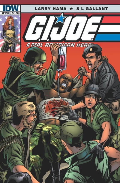 Cover for G.I. Joe: A Real American Hero (IDW, 2010 series) #198 [Retailer Incentive Cover]