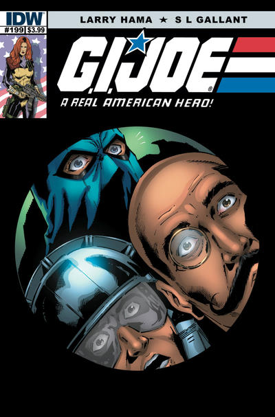 Cover for G.I. Joe: A Real American Hero (IDW, 2010 series) #199