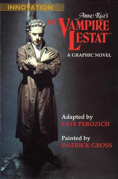 Cover for Anne Rice's The Vampire Lestat (Innovation, 1991 series)
