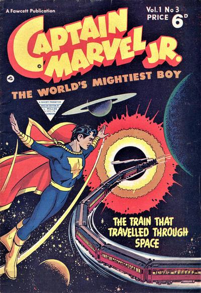 Cover for Captain Marvel Jr. (L. Miller & Son, 1953 series) #3