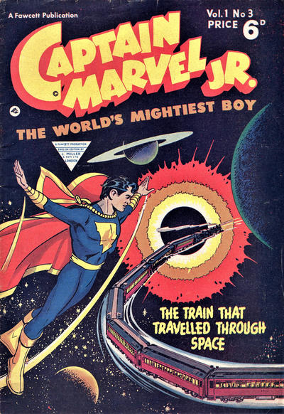 Cover for Captain Marvel Jr. (L. Miller & Son, 1953 series) #3
