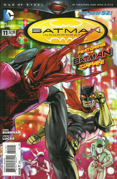 Cover for Batman Incorporated (DC, 2012 series) #11