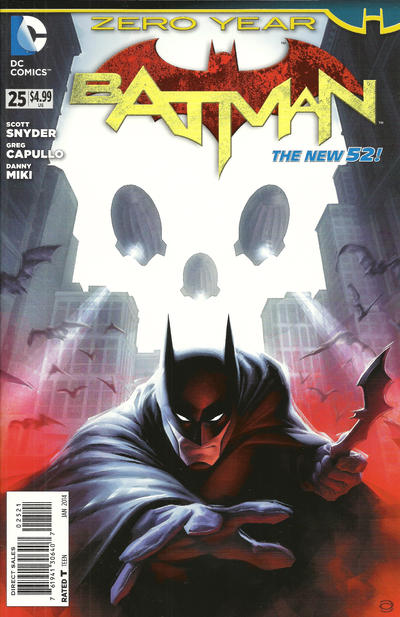 Cover for Batman (DC, 2011 series) #25 [Combo-Pack]
