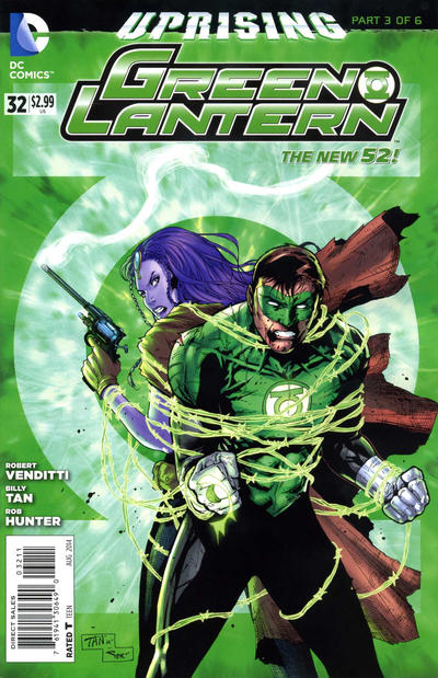 Cover for Green Lantern (DC, 2011 series) #32