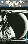 Cover for Batman: The Dark Knight (DC, 2011 series) #10 [David Finch / Richard Friend Black & White Wraparound Cover]