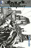 Cover for Batman: The Dark Knight (DC, 2011 series) #11 [David Finch / Richard Friend Black & White Wraparound Cover]