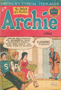 Cover Thumbnail for Archie Comics (H. John Edwards, 1950 ? series) #10