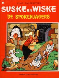 Cover Thumbnail for Suske en Wiske (Standaard Uitgeverij, 1967 series) #70 - De spokenjagers