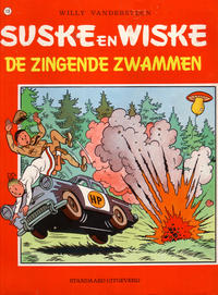 Cover Thumbnail for Suske en Wiske (Standaard Uitgeverij, 1967 series) #110 - De zingende zwammen