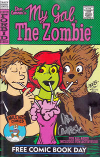 Cover Thumbnail for Dan Conner's My Gal, the Zombie / Little Bronco FCBD Special (Crazy Good Comics, 2014 series) #[nn]