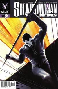 Cover Thumbnail for Shadowman: End Times (Valiant Entertainment, 2014 series) #2 [Cover A - Jeff Dekal]