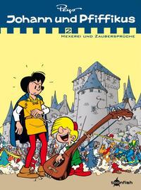 Cover Thumbnail for Johann und Pfiffikus (Splitter Verlag, 2011 series) #2 - Hexerei und Zaubersprüche