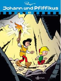 Cover Thumbnail for Johann und Pfiffikus (Splitter Verlag, 2011 series) #4 - Die Schlumpfjahre