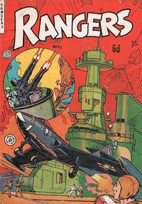 Cover Thumbnail for Rangers Comics (H. John Edwards, 1950 ? series) #26