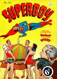 Cover Thumbnail for Superboy (K. G. Murray, 1949 series) #34 [Different price]