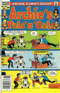 Cover Thumbnail for Archie's Pals 'n' Gals (Archie, 1952 series) #166