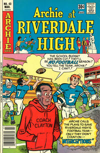 Cover Thumbnail for Archie at Riverdale High (Archie, 1972 series) #43