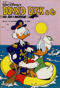 Cover Thumbnail for Donald Duck & Co (Hjemmet / Egmont, 1948 series) #28/1988