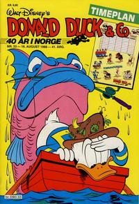 Cover Thumbnail for Donald Duck & Co (Hjemmet / Egmont, 1948 series) #33/1988