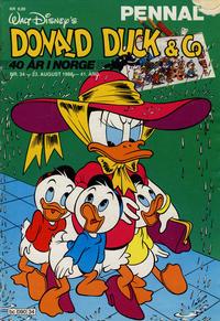 Cover Thumbnail for Donald Duck & Co (Hjemmet / Egmont, 1948 series) #34/1988
