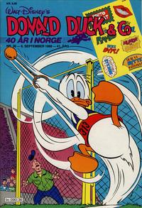 Cover Thumbnail for Donald Duck & Co (Hjemmet / Egmont, 1948 series) #36/1988