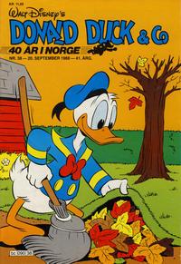 Cover Thumbnail for Donald Duck & Co (Hjemmet / Egmont, 1948 series) #38/1988