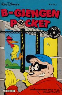 Cover Thumbnail for B-Gjengen pocket (Hjemmet / Egmont, 1986 series) #6