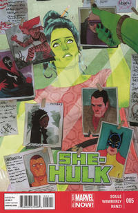 Cover Thumbnail for She-Hulk (Marvel, 2014 series) #5
