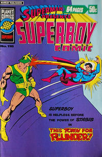Cover Thumbnail for Superman Presents Superboy Comic (K. G. Murray, 1976 ? series) #116