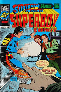 Cover Thumbnail for Superman Presents Superboy Comic (K. G. Murray, 1976 ? series) #114