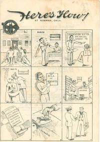 Cover Thumbnail for Here's How! (U.S.N. Personnel Separation Center, 1950 ? series)