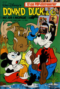 Cover Thumbnail for Donald Duck & Co (Hjemmet / Egmont, 1948 series) #40/1988