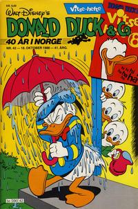 Cover Thumbnail for Donald Duck & Co (Hjemmet / Egmont, 1948 series) #42/1988