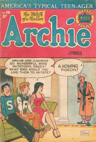 Cover for Archie Comics (H. John Edwards, 1950 ? series) #10
