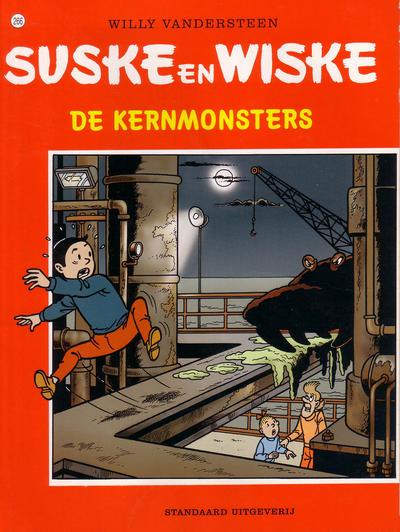 Cover for Suske en Wiske (Standaard Uitgeverij, 1967 series) #266 - De kernmonsters
