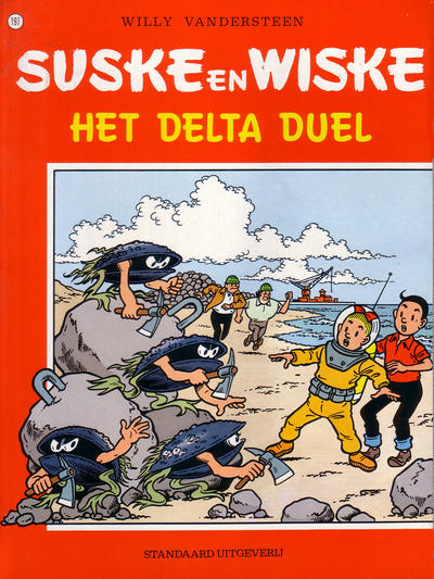 Cover for Suske en Wiske (Standaard Uitgeverij, 1967 series) #197 - Het Delta duel